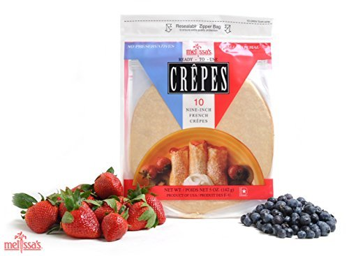 Melissa#039s ReadytoUse Crepes 3 Packages