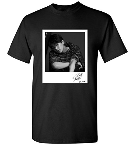The Incredible BTS Min Yoongi Suga Love Yourself Tear Signed Polaroid Photo T-Shirt ()