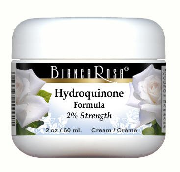 Amazon.com: Hydroquinone USP Bleaching Cream (2%) (2 oz, ZIN: 428110):  Health & Personal Care