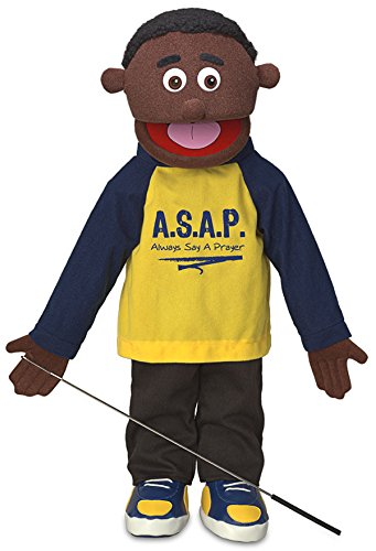 25-Always-Say-A-Prayer-Black-Boy-Full-Body-Christian-Ministry-Puppet