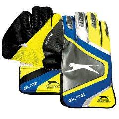 SLAZENGER Elite Wicket Keeping Gloves, Mens