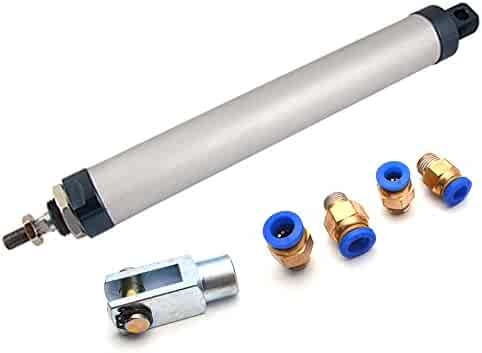 "Bore Stroke Baomain Pneumatic Air Cylinder SC 63 x 200 PT 3//8 8/"" 2 1//2 inch"