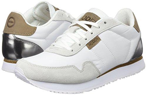 Ii Bianco Sneaker bright Whit 300 Donna Nora Woden q547aCff