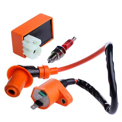 FADACAI Racing Ignition Coil CDI + Ignition Coil + Spark Plug For GY6 50cc 125cc 150cc: Amazon.co.uk: Kitchen & Home