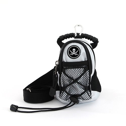 CMC Golf Jolly Roger Mini Daypack, Silver