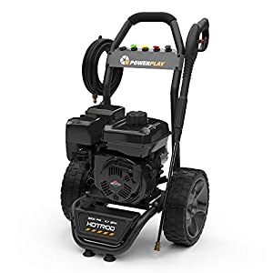 PowerPlay Hotrod 3300-PSI 2.7-GPM Cold Water Gas Pressure Washer Powered by Briggs and Stratton 9.50 Engine, Black/Gray