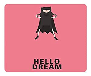 Brain114 Customized Rectangle Rubber Mousepad Hello Dream High Quality Water Resistent Oblong Soft Gaming Mouse Pads