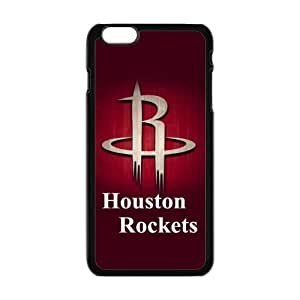 Sport 1 NBA Team Team Houston Rockets James Harden Dwight Howard Print Black Case With Hard Shell Cover for Apple iPhone 6 Plus 5.5""