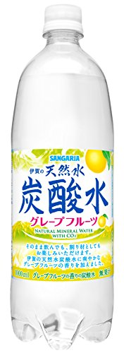 Sangaria Iga natural water 1000mlX12 this carbonated water grapefruit by SANGARIA