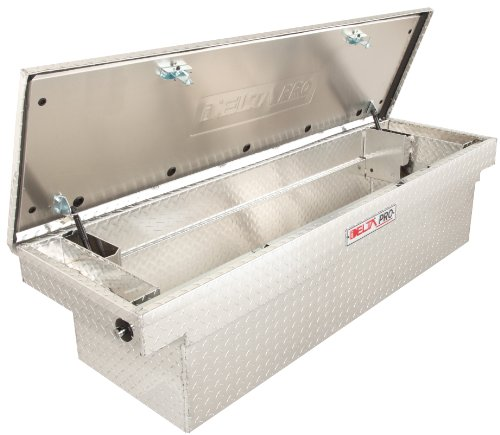 Jobox PAC1582000 Aluminum Single Lid Fullsize Deep Crossover Truck Box - Chest Truck Delta
