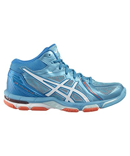 Asics AQUARIUM HOT 2016 GEL WHITE Zapatillass SILVER MT FLASH VOLLEY ELITE WHITE CORAL CORAL 3 HBvUq