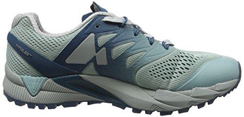 Merrell Womens Agility Peak Flex 2 E-mesh Sneaker Legion Blue