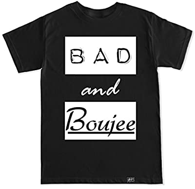 FTD Apparel Men's Bad and Boujee T Shirt