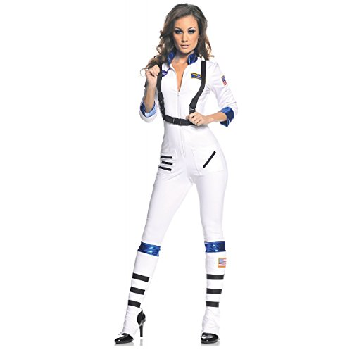 Underwraps Blast Off Astronaut Costume (Blast Off Adult Costume - Medium)