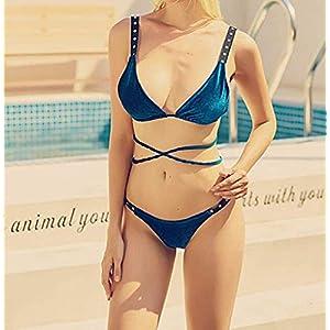 Bikini-de-terciopelo-para-mujer-traje-de-bao-triangular-acolchado
