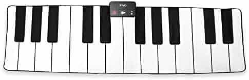 Dance in Tunes FAO Schwarz 6 ft Big Piano Dance Mat