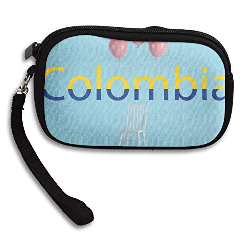 Purse Flag Bag Deluxe Small Portable Colombia Printing Receiving wFT4qII