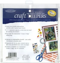 (Generations Bulk Buy Craft Keepers Snap Closure Envelope Assorted Colors 12 inch x 12 inch 85590 (10-Pack))
