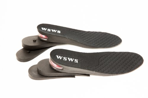 Aeropost.com Anguilla - WSWS 3Layer Half Height Increase Taller Insole Shoes  Pad Air Cushion for MEN (approximately 25 inches) cac355e97a76