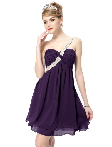 HE03321PP10 Purple 8US Ever Pretty Graduation Holiday Dresses 03321