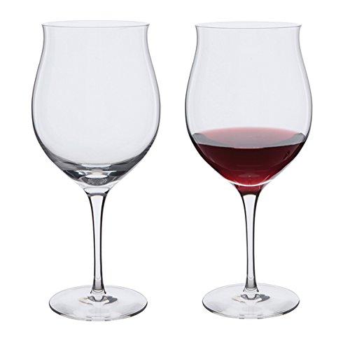 DARTINGTON CRYSTAL Wine Master Grand Cru (Pack of 2), Crystal, 9x22.6x25 cm