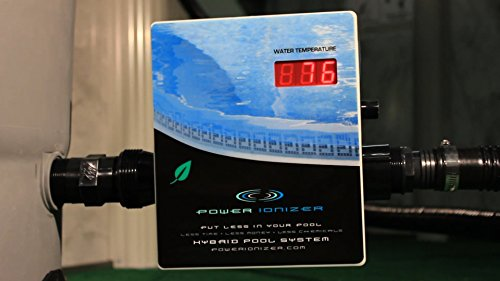 Power ionizer swimming pool water sanitizer system import it all for Copper silver ionization system swimming pool