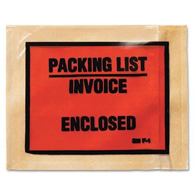 Non-printed adhésif d'emballage Liste enveloppes, 41/2x 51/2, Blanc, 1000/Box, vendu comme 1Boîte 41/2x 51/2 vendu comme 1Boîte 3M/COMMERCIAL TAPE DIV.