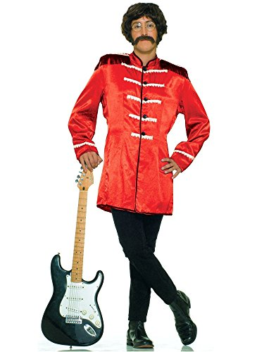 Forum Novelties Men's British Invasion Costume Jacket, Red, One Size]()