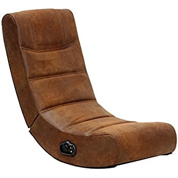 X rocker 2 0 audio gaming chair in distressed for Silla x rocker 51491 extreme iii 2 0 gaming rocker chair with audio system