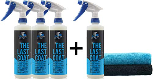 (The Last Coat Car Polish - Water Based Liquid Coating Protection, Smooth & Shiny Finish - Paint Care & Repair for Car or Any Surface)