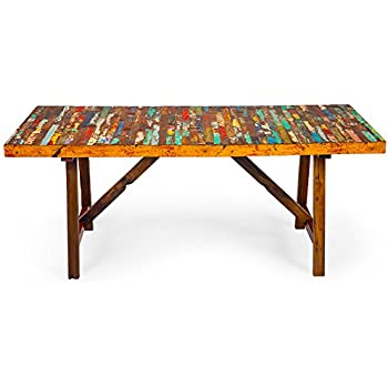 Superb EcoChic Lifestyles Buoy Crazy Reclaimed Wood Dining Table