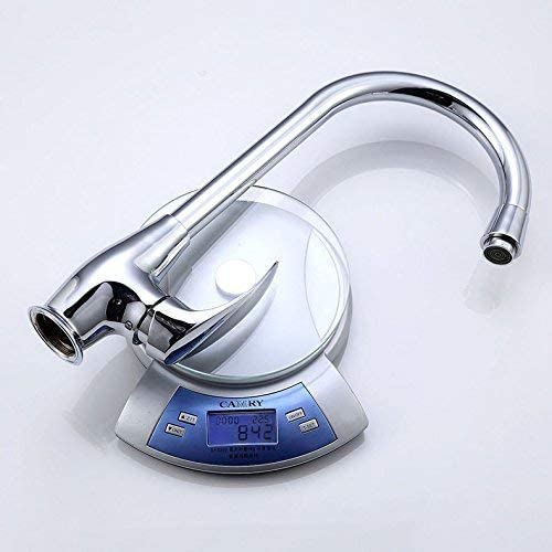 CHENBIN-BB バスルームのシンクは、ホット&コールド流域の蛇口、洗面台ダブル回転単穴シンクシンクの蛇口、すべての銅ボディタップミキサー流域の真鍮シンクミキサータップ非震とう浴室の蛇口をタップ。