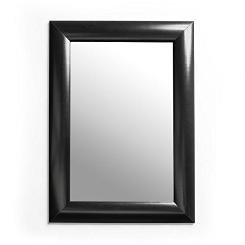 Black Rectangular Modern Mirror 20x26 Inch