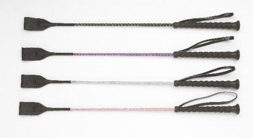 Size:23 Color:Purple EquiStar Rainbow Glitter Stick