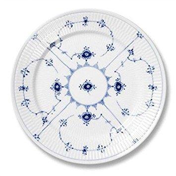 """Royal Copenhagen Blue Fluted Plain 10.75\"""" Dinner Plate"""