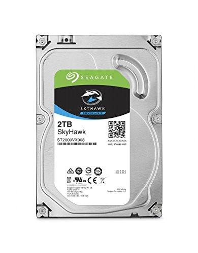 3 opinioni per Seagate Surveillance HDD SkyHawk 2TB 2000GB Serial ATA III internal hard drive-