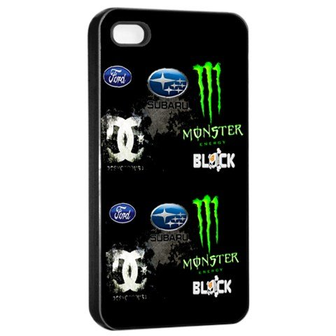 amazon com dc shoe ken block 43 ford monster energy logo case for rh amazon com  dc monster energy