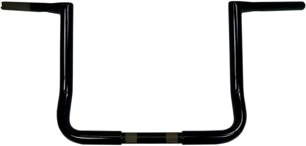 LA CHOPPERS LA-7310-12B Black 11//4 Handle Bar Tbw Ape 12