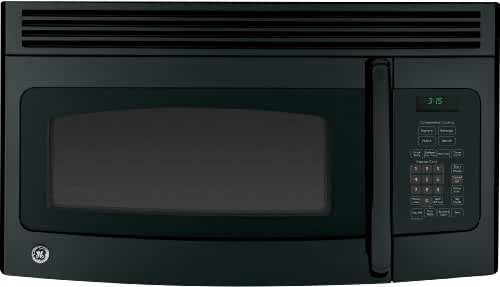 postalproducts JNM3163DJBB GE Over-The-RanGE Microwave Oven, 1.6 cu. ft., 1000W, Black