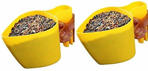 Feed Bird Scoop - PP (2 Pack) Scoop'n Fill Bird Seed Scoops