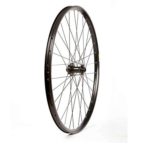 Wheel Shop Mavic EN627 Disc/ DT Champion Black Wheel Front 29'' 32 spokes Novatec D881 15/20x110mm TA Disc 29' Wheels