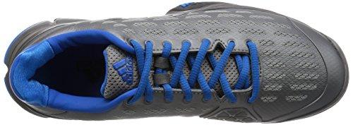 adidas Performance Barricade 2016, Scarpe da Tennis Uomo Grau (Iron Met./Core Black/Shock Blue S16)