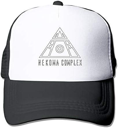 Nekoma Trucker HatThe Great Outdoors Unisex One Size Snap Back Summer Mesh Cap with Adjustable Snapback Strap Black