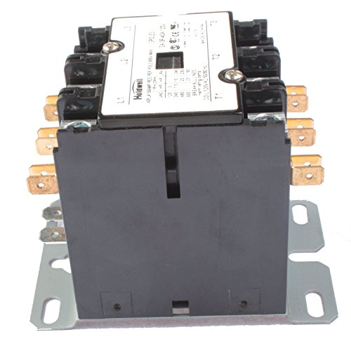 Purpose Contactor Standard 3 Pole (Holdwell 42CF35AF 3 Pole 40 Amp 120V Coil Definite Purpose Contactor)