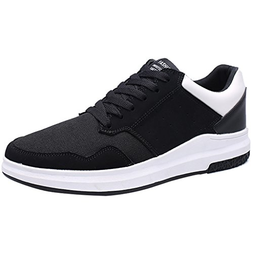tela Nuove scarpe coreano Size basse da uomo Espadrillas primavera casual Scarpe 43 sportive YaNanHome stile scarpe stile scarpe scarpe Bianca di Color Red da uomo q8XPHw
