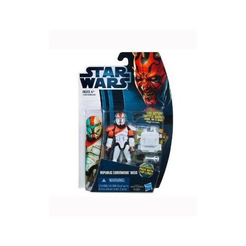 Star Wars Wars Clone Figures (Star Wars 2012 Clone Wars Action Figure CW No. 11 Republic Commando Boss)