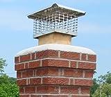 13 x 17 Single Flue Stainless Steel Chimney Cap