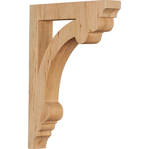 Ekena Millwork CORW02X10X12ELCH Wood Corbel, 1 1/2