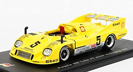1976 Porsche 908/3 Turbo Winner Nurburgring Model Car in 1:43 Scale by
