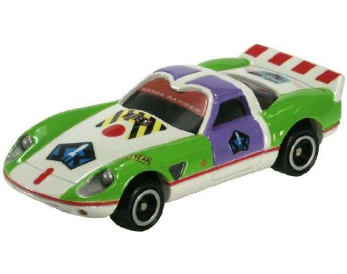 スピードウェイスター バズ・ライトイヤー(グリーン×パープル×ホワイト) 「トミカ ディズニーモータース DM-03」の商品画像